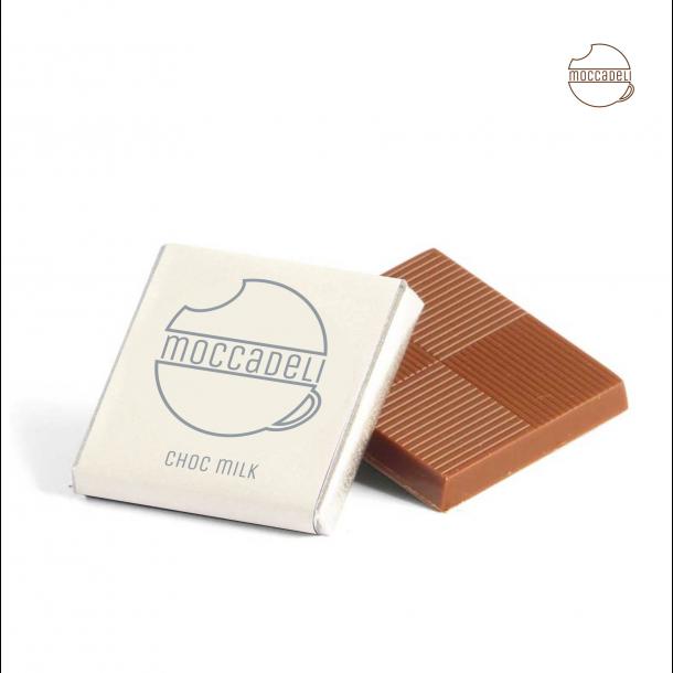 MOCCADELI CAFE CHOKOLADE lys chokolade
