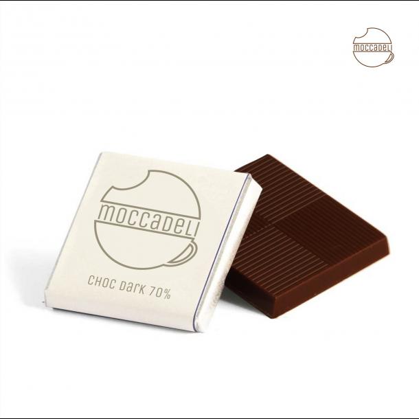 MOCCADELI CAFE CHOKOLADE mørk 70% chokolade